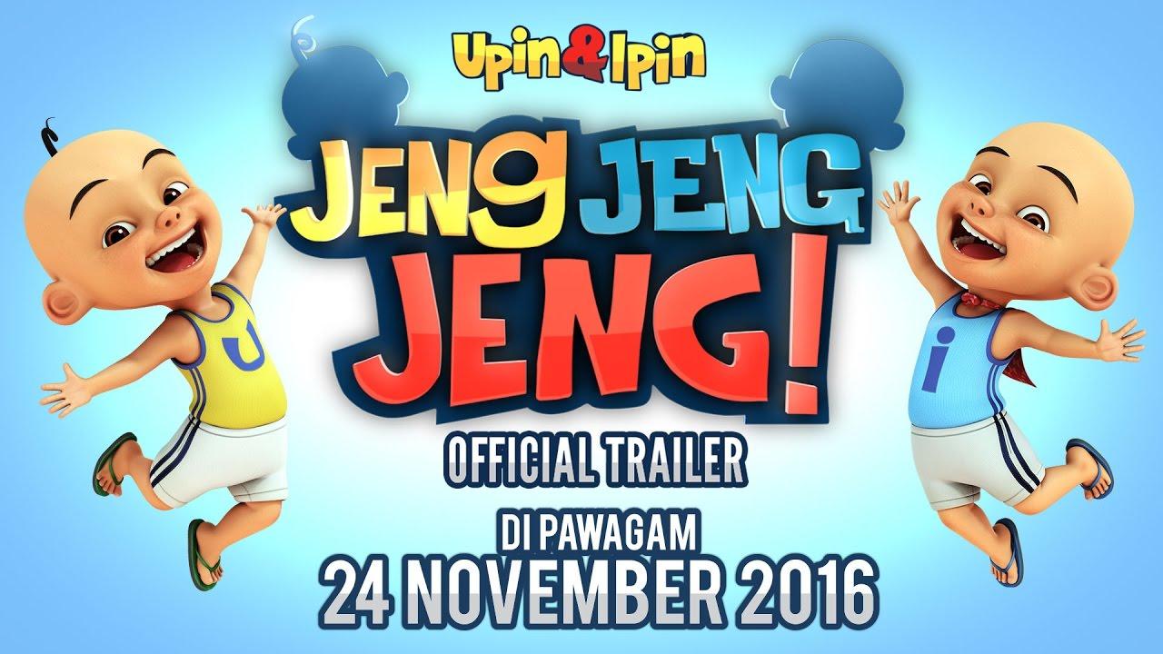 Official Trailer Upin  Ipin Jeng Jeng Jeng  YouTube