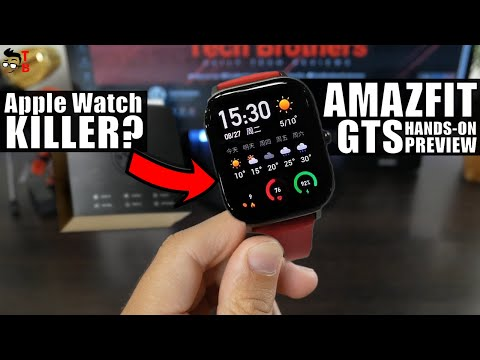 Amazfit GTS PREVIEW Is This Amazfit BIP 2?