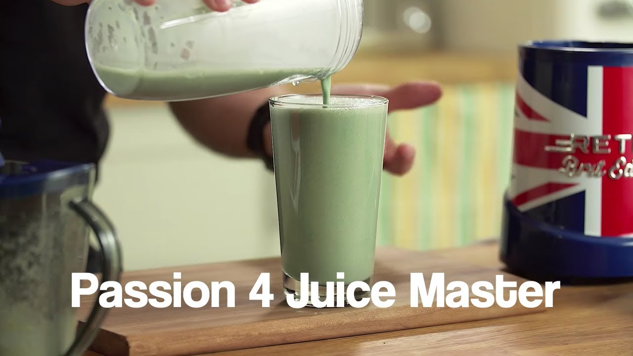 Passion 4 Juice Master Jason Vale Smoothie Recipe