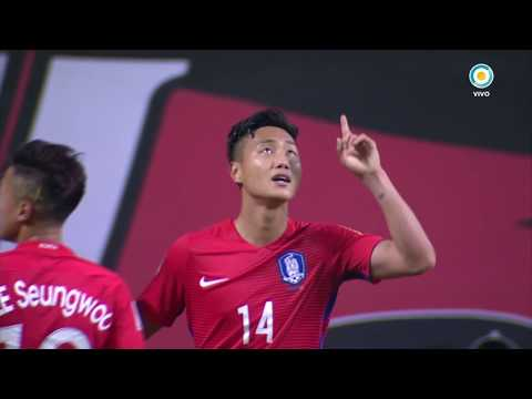 Mundial Sub 20 2017- Corea vs. Guinea - Gol de PAIK