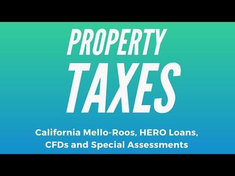 Property Taxes | Mello Roos | Special Assessments | Murrieta Ca | Temecula Ca | Menifee Ca