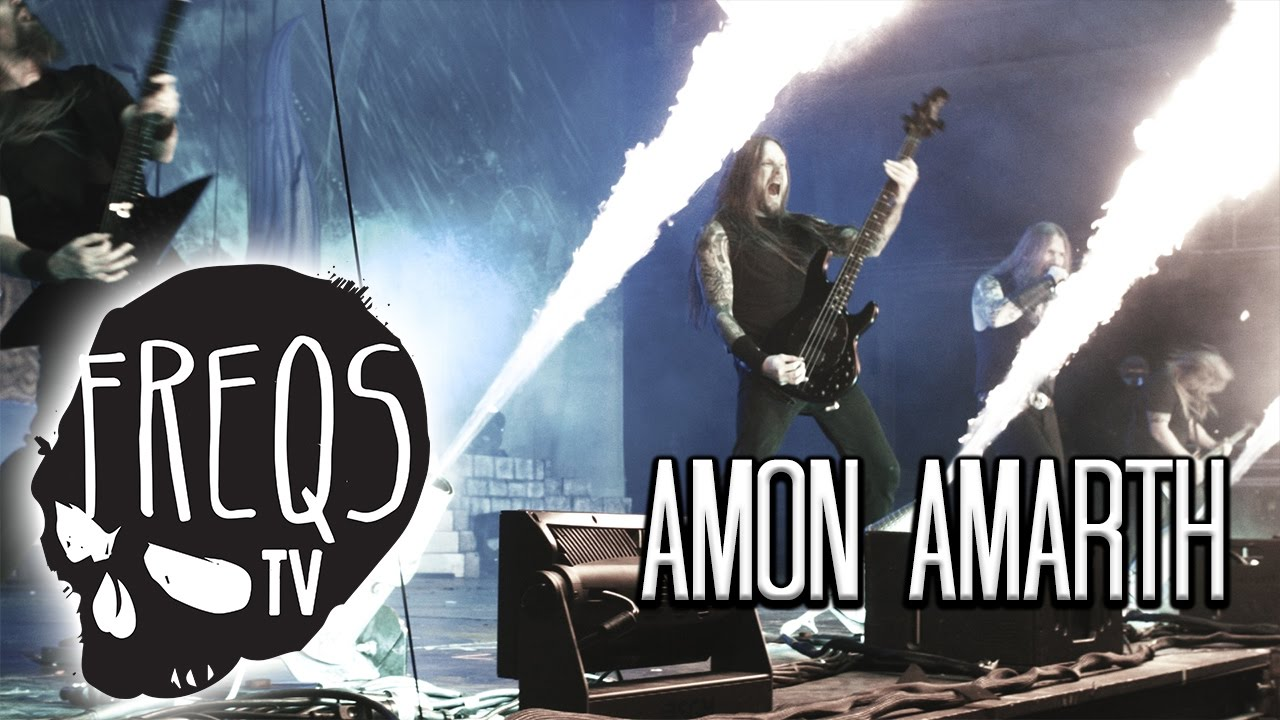 AMON AMARTH VIKING METAL sets sail to