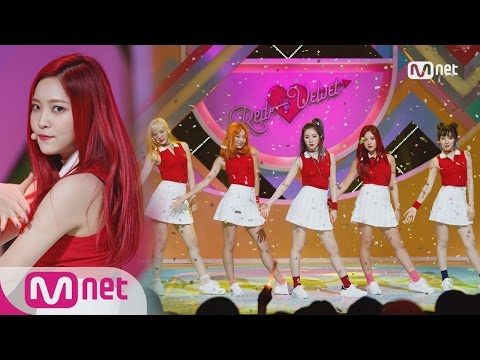 Red Velvet  Russian Roulette Comeback Stage  M COUNTDOWN 160908 EP.492