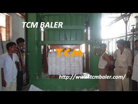 Cotton Fiber Pressing Baler Short Fiber Compactor Machine