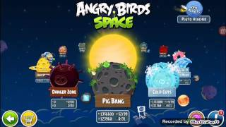 Angry bird space lucha contra jefes