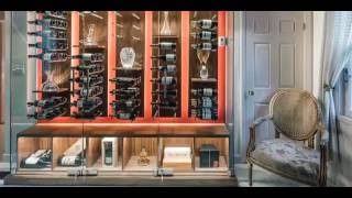 Wine Cellar Design by Papro Consulting, 'Reach-In, Surrounding Glass Wine Cellar'