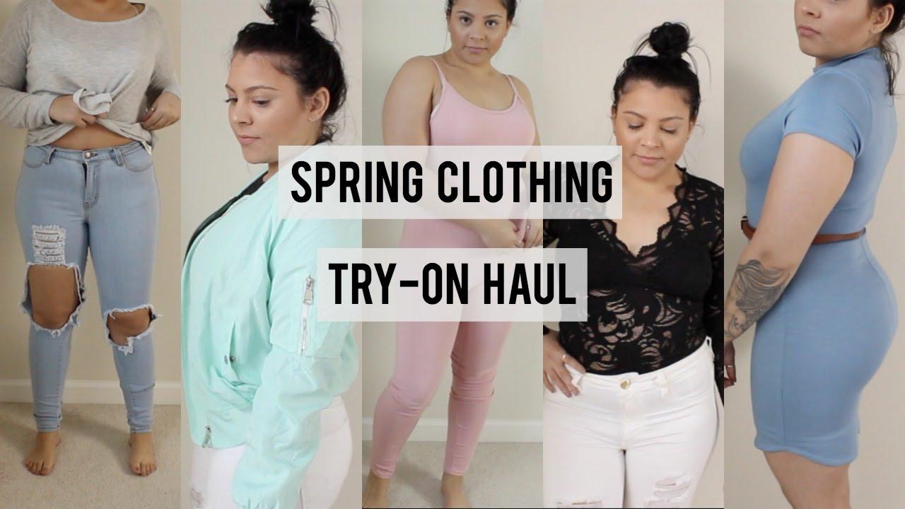 21fec071330c3 Fashion Nova and H&M Try-On Haul - YouTube