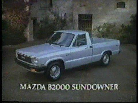 1982 mazda b2000 sundowner truck commerical youtube