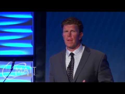 Matt Birk National Speaker Video - www.MattBirkSpeaking.com   651-295-1733