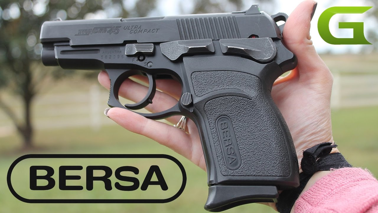 Bersa Thunder Pro Ultra Compact  45ACP Review
