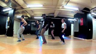Sarkodie - Down On One Ft.  Fuse ODG - Azonto vs Dancehall new choreo