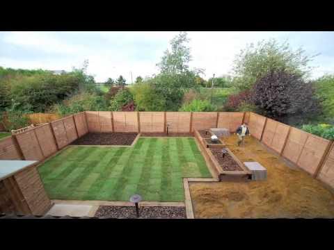 видео: Ландшафтный дизайн участка за 10 дней