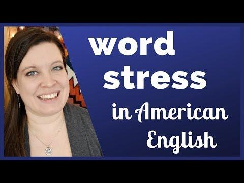 Word Stress in American English: English Rhythm for Clear Pronunciation (Syllable Stress)