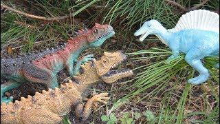 Динозавры. НОВЫЙ ПЛАН СПИНОЗАВРА. Динозавры на Острове Драконов. Поиск пропавших яиц