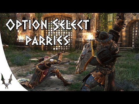 For Honor - Explaining Option Select Parries