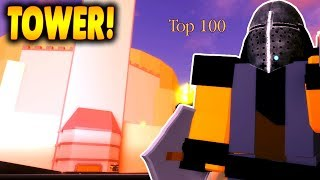 Exploring the Capital! Journey Up The Tower Part 1 | Darkblox in Roblox | iBeMaine