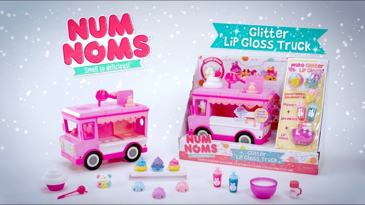 Num Noms Series 3 Glitter Lip Gloss Truck 30 Commercial