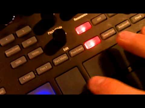 Creating a Template Pattern for Korg Electribe 2