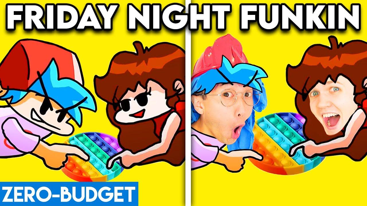 Download FNF POP IT BATTLE WITH ZERO BUDGET! (FRIDAY NIGHT FUNKIN POP IT BATTLE PARODY BY LANKYBOX!)