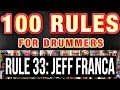 033: Jeff Franca (Thievery Corporation) | RULES FOR DRUMMERS