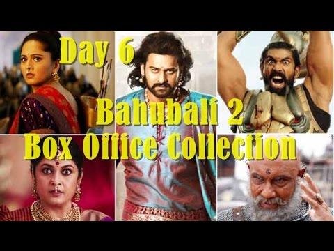 Bahubali 2 box office collection day 6 hindi version youtube - Box office collection hindi ...