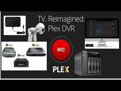 Plex DVR Beta Server on Asustor NAS with HomeRun Tuner Hardware