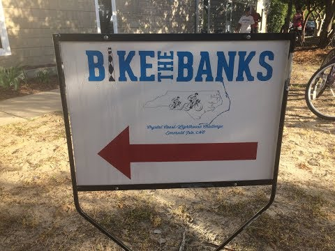 Biking 4th Annual Bike The Bank's Emerald Isle, NC To Fort Macon - 50 Miles Part I - May 5, 2018