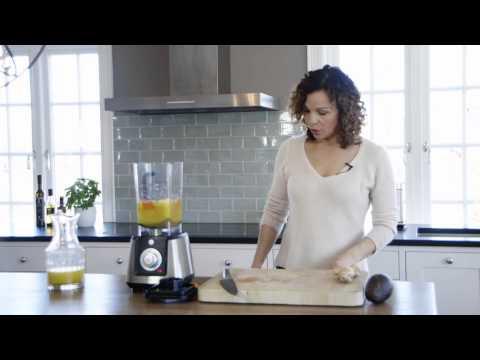 Kari Jaquesson - oppskrift på superfrisk appelsin- og ingefærsmoothie