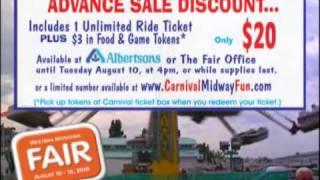 Western Montana Fair 2010 Carnival Commercial