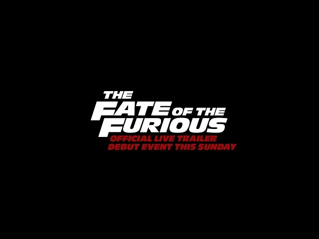 The Fate of the Furious Video 2