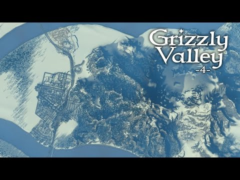 """Cities Skylines (Snowfall) - Grizzly Valley [PART 4] """"Snowy Mountains & Lift Hills"""""""