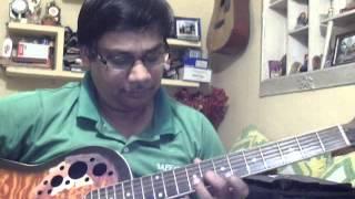 Tumhi meri mandir tumhi meri pooja solo on Guitar