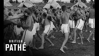German Youth Camp Scenes (1937)