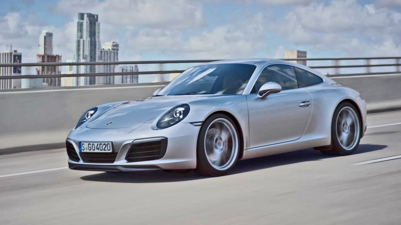 New 2016 Porsche 911 Carrera Facelift Official Trailer
