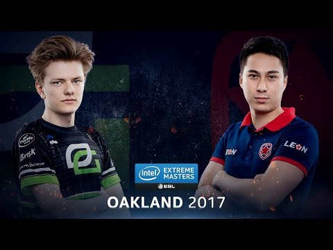 CS:GO - OpTic vs. Gambit [Train] - Group B Round 1 - IEM Oakland 2017