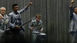 "David Byrne , ""  I Dance Like This ""Aug 11, 2018  Rose Music Center , Huber Heights, Ohio  live"