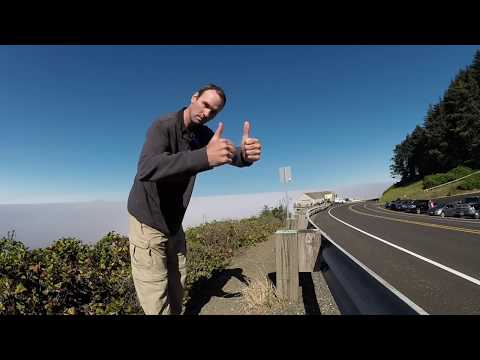 Oregon Coast Sea Lion Caves Solar Eclipse August 21st 2017