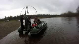 Лодка Фрегат 430 с двигателем Лифан 27 л.с