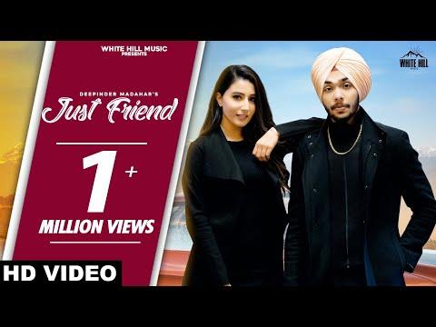 just-friend-(full-song)- -deepinder-madahar- -new-song-2020- -white-hill-music