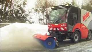 Municipal Street Sweepers - Mower, Snow Plough/Brush & Gritter for Hako Citymasters