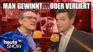 Lutz van der Horst und Ralf Kabelka auf den Wahlpartys in NRW