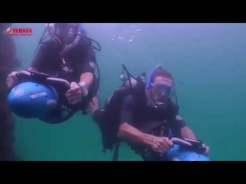 YAMAHA Diving Sea Underwater Scooter with Camera Mount Recreational Dive Series