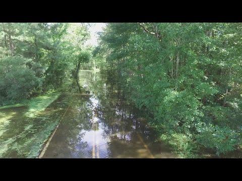 DRONE 10 : Video of Virginia Beach Flooding