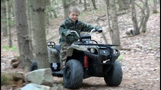 YAMAHA GRIZZLY FOUR WHEELER / 24-VOLT QUAD FOR KIDS