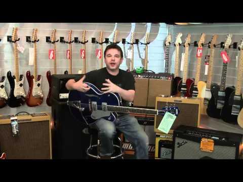 Gretsch Brian Setzer G6120 Hot Rod - Regal Blue