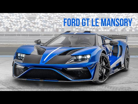 2020 Ford Gt Le Mansory Youtube