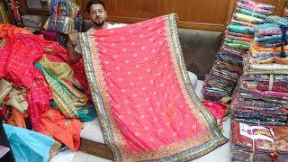 1000 तरह की साड़ियां | SURAT WINTER SAREE SPECIAL | SUPERHIT SAREE COLLECTION OF 2018 | CHEAPET SAREE