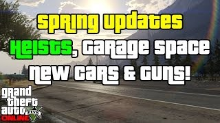 Gta 5 Online Heist Release, Extra Garages, High End Apartments & More! (gta 5 News)