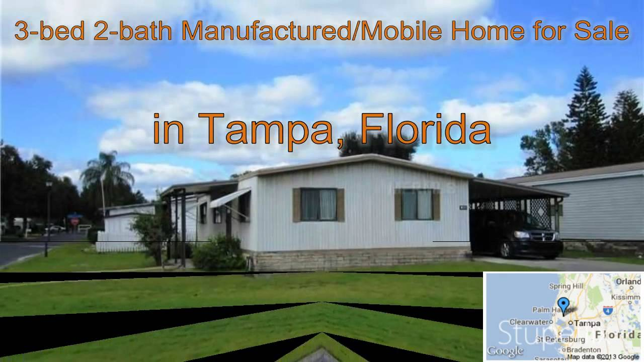 3 bed 2 bath manufactured mobile home for sale in tampa florida on rh youtube com