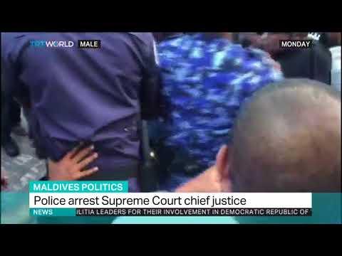 Security forces arrest Maldives chief justice judge